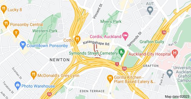Location of Mercury Lane