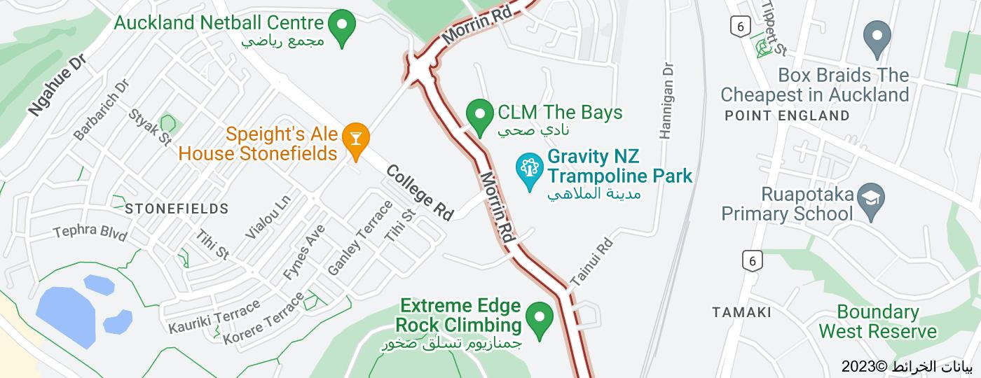 Location of Morrin Road