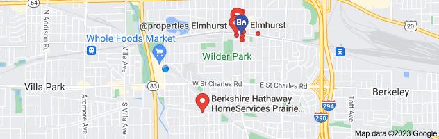 Map of Elmhurst real estate