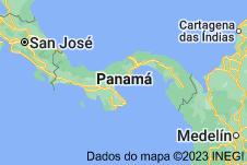 Location of Panamá