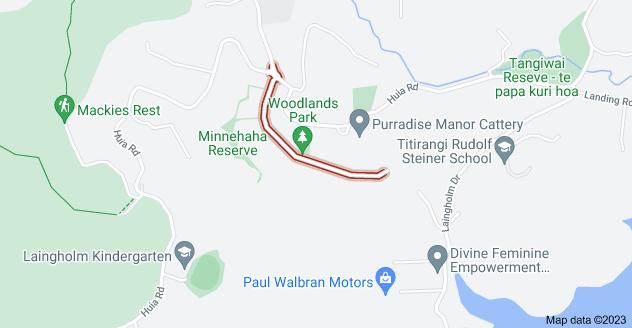 Location of Minnehaha Avenue