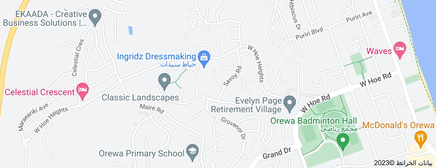 Location of Montcalm Close