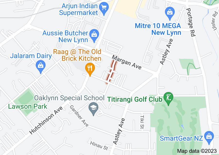 Location of Thom Street
