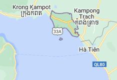 Map of Kep Province