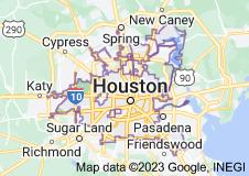 Map of Houston