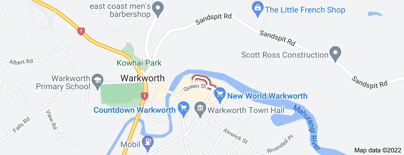 Location of Wharf Street