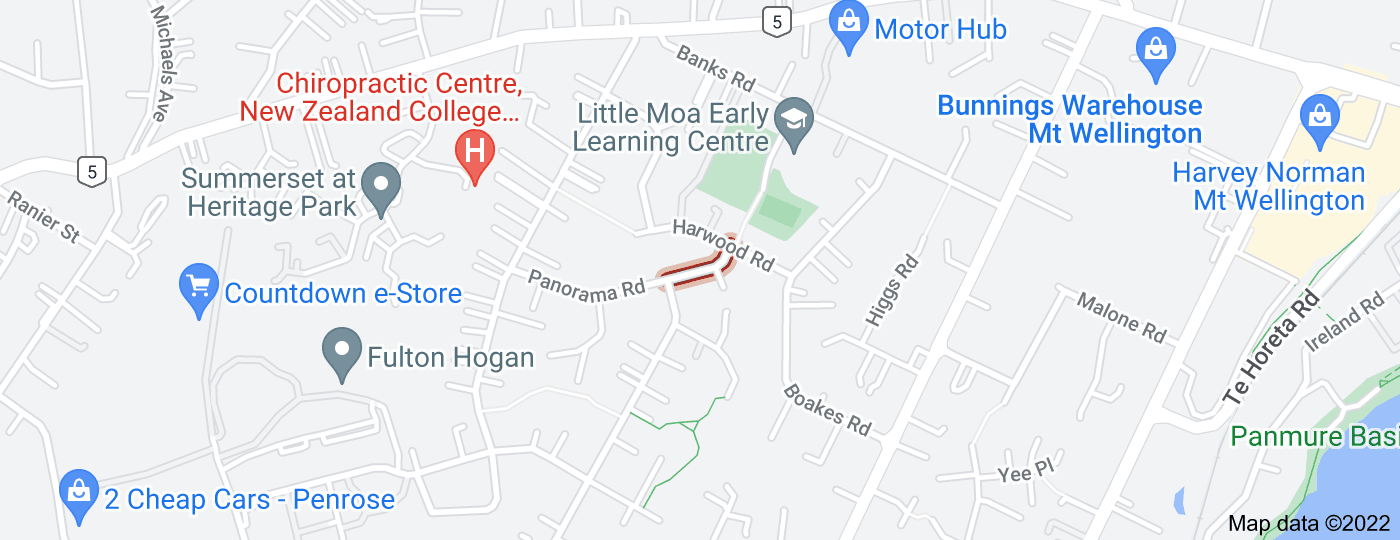 Location of Almond Place