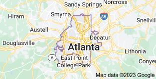 Map of Atlanta