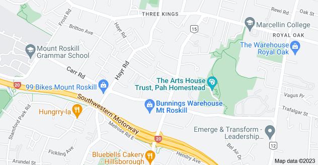 Location of Millard Street