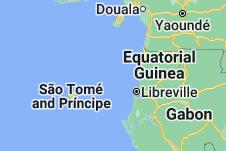Location of Equatorial Guinea