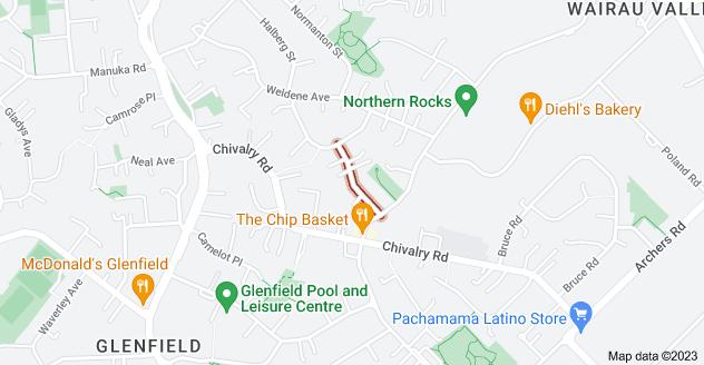Location of Rosalind Road