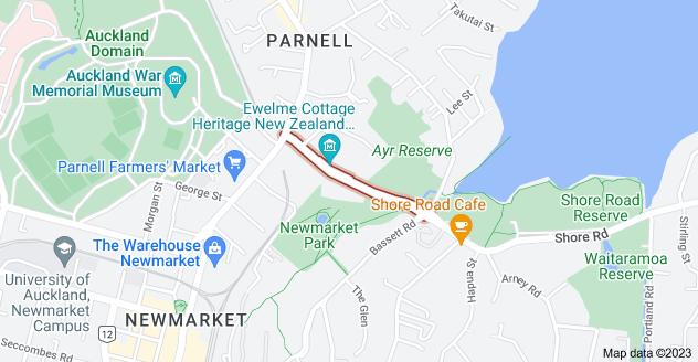 Location of Ayr Street