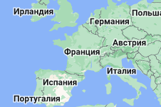 Location of Франция