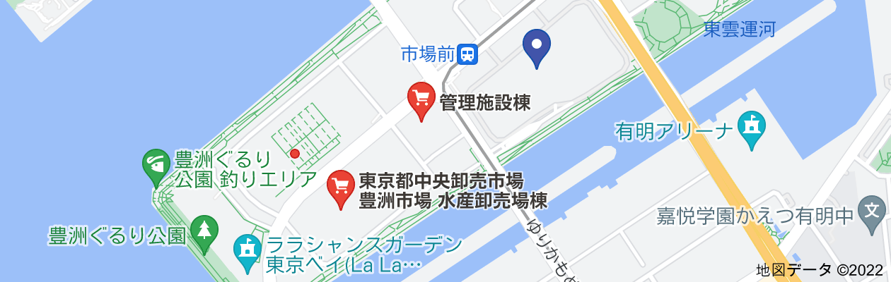豊洲市場いつからの地図