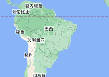 Location of 巴西