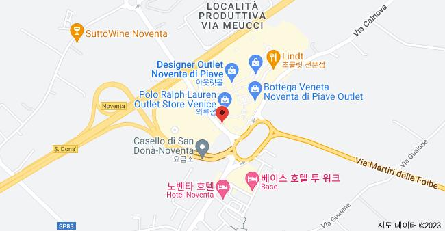 Via Calnova, 142, 30020 Noventa di Piave VE, 이탈리아 지도