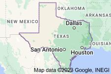 Location of Texas