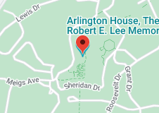 Map of Arlington House, The Robert E. Lee Memorial
