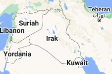 Location of Irak
