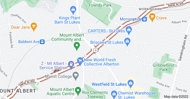 Location of New North Road