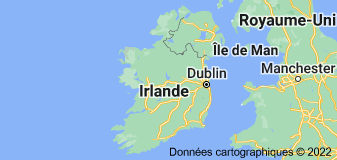 Location of Irlande