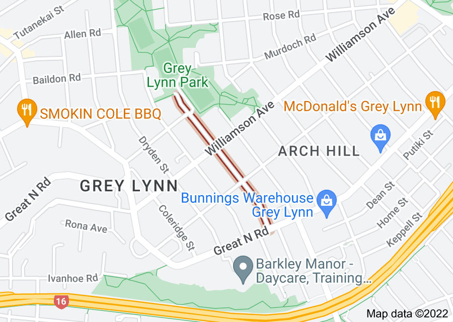 Location of Elgin Street