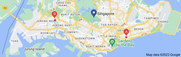 Map of canadian international school (singapore) (ciss)