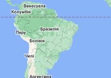 Location of Бразилія