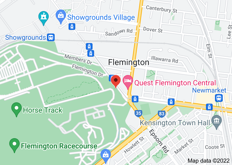 Location of Melbourne Cup Carnival