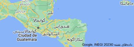 Location of هندوراس