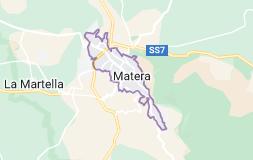 Mappa di: Matera Italia