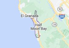 Map of Half Moon Bay California