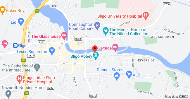 Map of 5 John F Kennedy Parade, Abbeyquarter North, Sligo, F91 D682