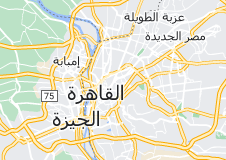 Location of القاهرة