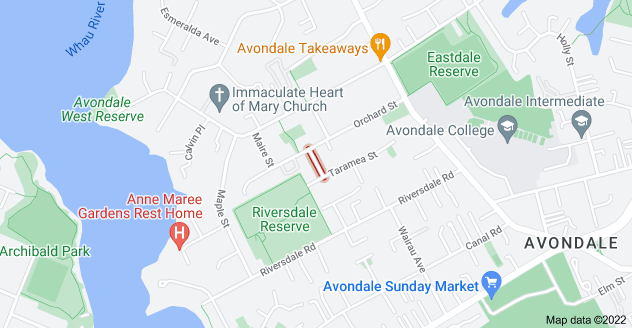 Location of Kiritoa Street