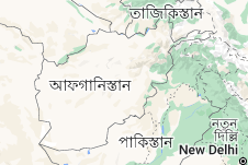 Location of আফগানিস্তান