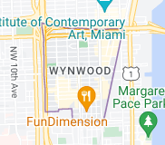 Map of Wynwood