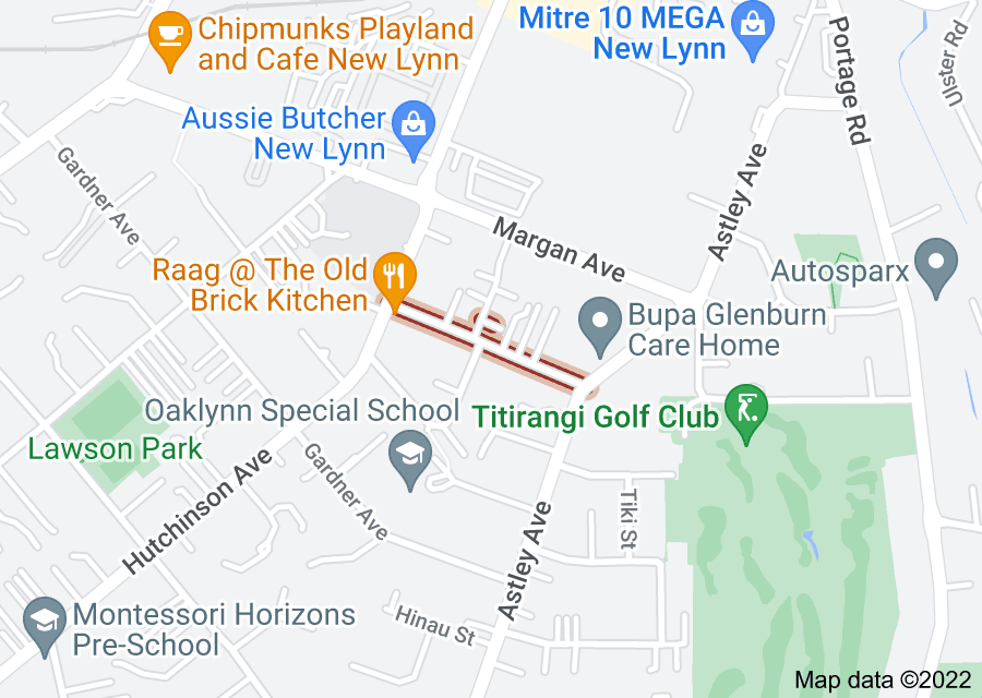 Location of Islington Avenue
