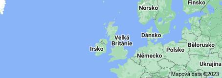 Location of Spojené království