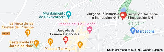 Mapa de juzgados de navalcarnero situacion