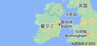 Location of 爱尔兰岛