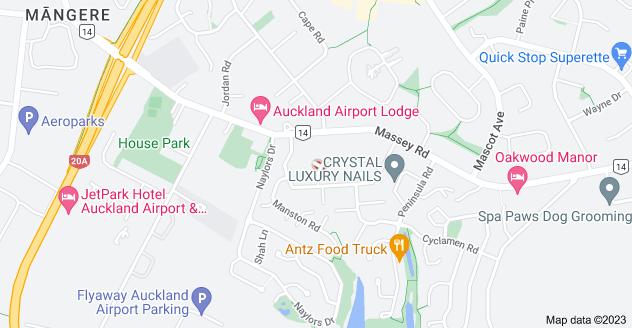 Location of Lympne Lane