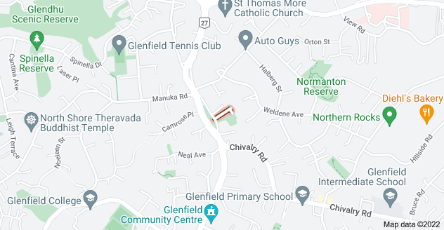 Location of Ross Avenue