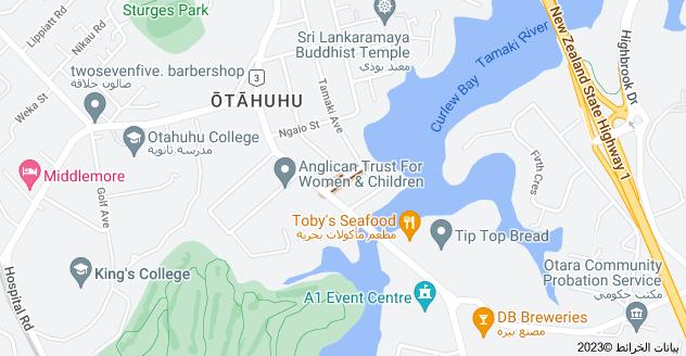 Location of Nelson Street