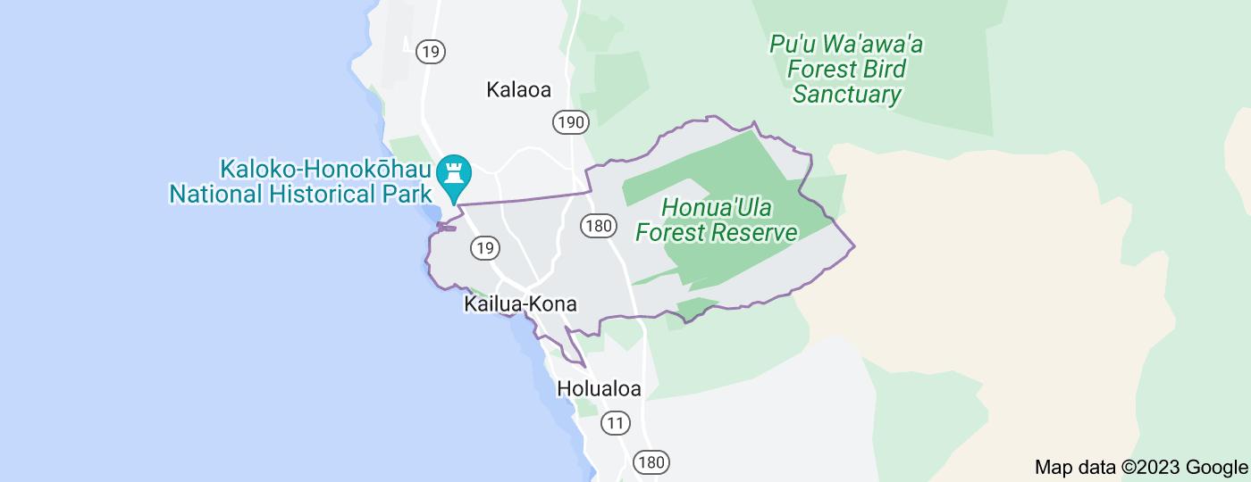 Location of Kailua