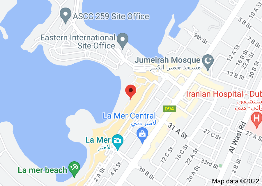 Location of Street Dubai
