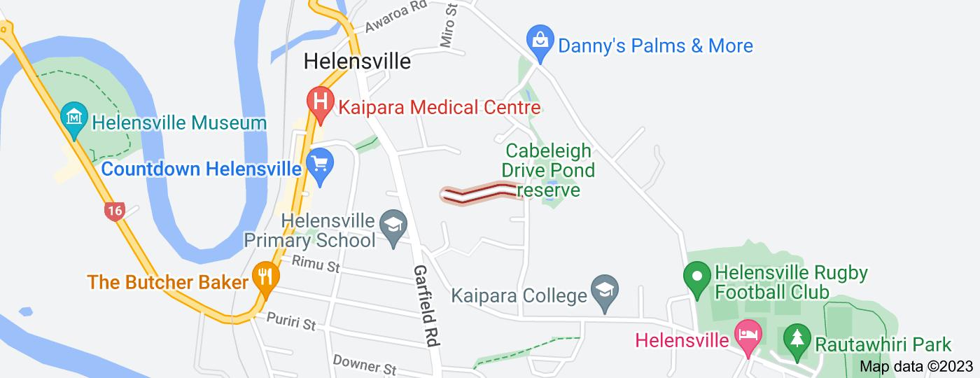 Location of Te Kauri Place