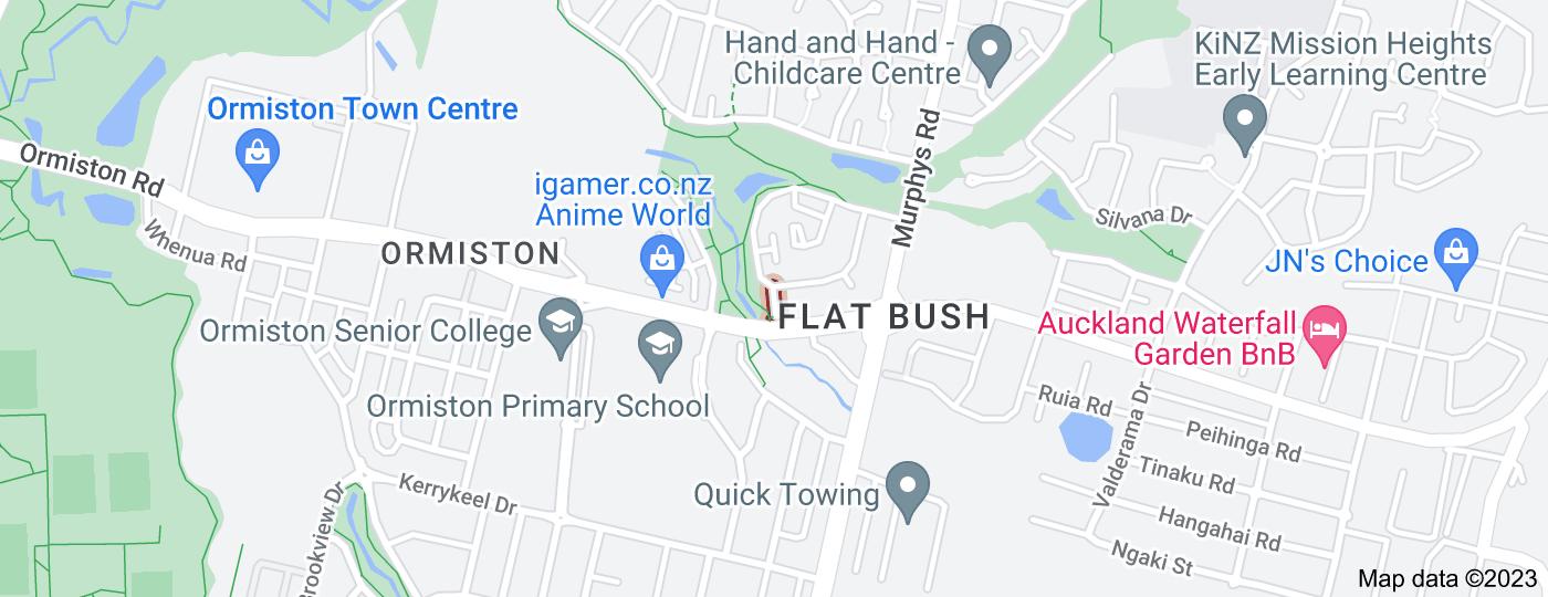 Location of Wisteria Lane