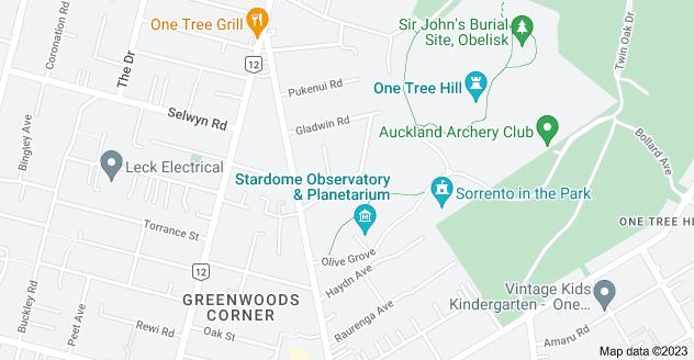 Location of Lewin Road