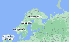 Location of Φινλανδία